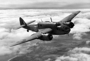 A Beaufort Bomber of the kind in which Tom was killed.
