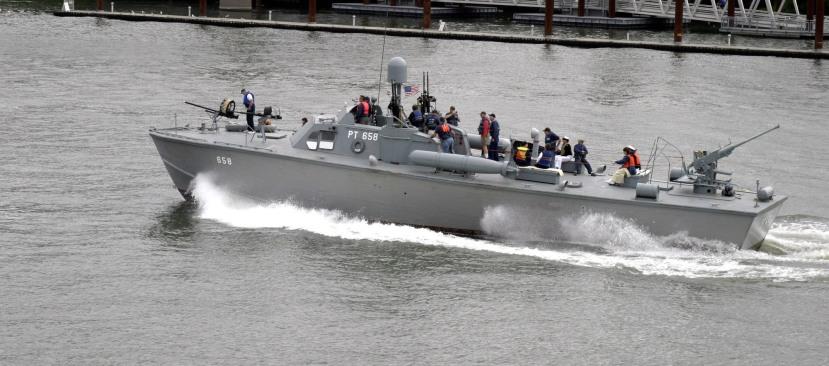 US Patrol Torpedo (PT) Boat (image of vessel restored post-war)