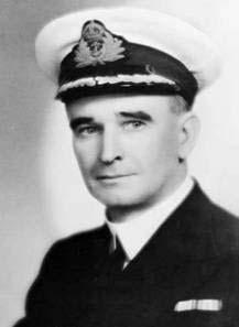 Commander Eric Feldt