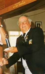 Bowls Club champion, 1990