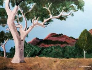 Painting: The Australian landscape