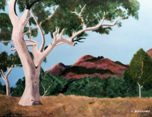 Painting: The Australian landscape