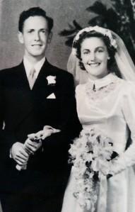 Jim & Beryl wedding 24 Feb 1951